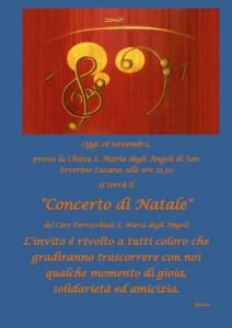 manifesto concerto natale