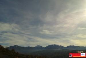 foto catena montuosa 13 12 2015