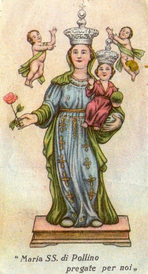 madonna del pollino figurina 1937